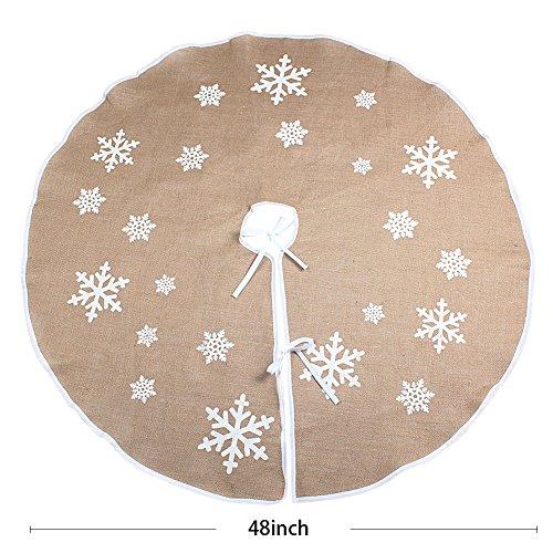 1 Aytai Christmas Snowflake Printed Decorations