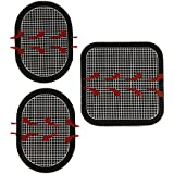 Gel Pads Replacement for ab Flex Belt Pro Go System 1 Set of 3