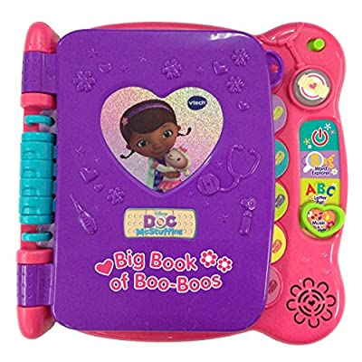 VTech Disney Doc McStuffins Discover and Learn Big Book of Boo-Boos: Toys & Games