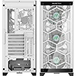 MUSETEX-5140mm-1120mm-ARGB-Fans-Voice-Remote-Control-Mid-Tower-Case-with-2-PCS-x-USB-30-Ports-Tempered-Glass-Panels-PC-Gaming-Case-Honeycomb-Airflow-Computer-ChassisMU3-MS6W-14