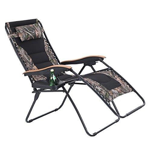 Phi Villa Oversize Xl Padded Zero Gravity Lounge Chair