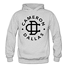 Jamn Women's Cameron Dallas Logo Hoodies Sweatshirts Hooded