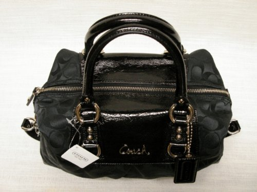 26ade7e22009 ... promo code for amazon coach signature ashley sabrina duffle satchel  shoulder bag purse 15443 black shoes