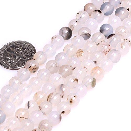 Botswana Agate Beads for Jewelry Making Natural Gemstone Semi Precious 6mm Round 15