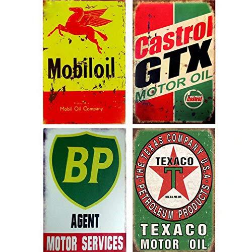 ny Old Tin Signs Metal Posters Bar Pub Club Tavern Garage Wall Decor Retro Iron Plaque (20X30cm) ()