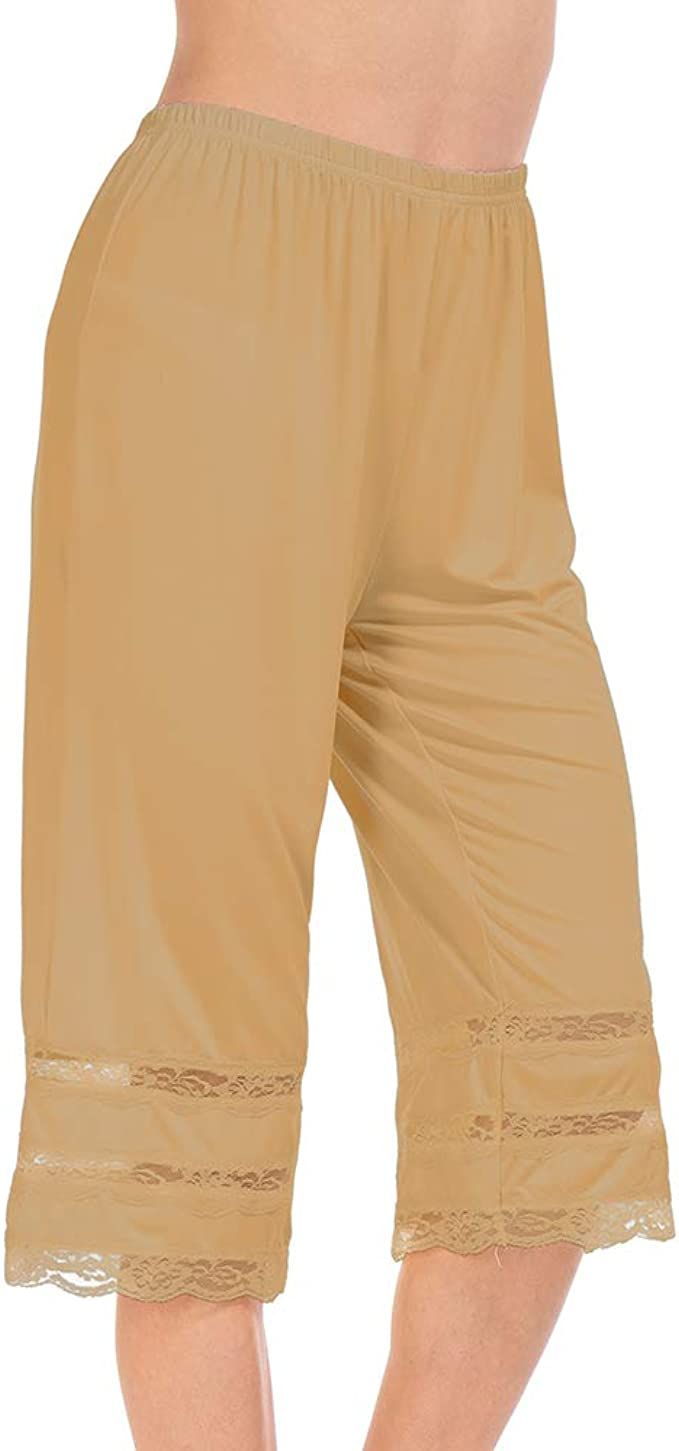 Amazon.com: MANCYFIT Pettipant - Pajama de encaje con media ...