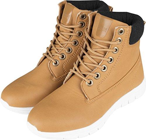 Urban Classics Herren Runner Boots Chukka Beige (Camel/Black/White 01167)