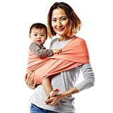 Baby K'tan Active Baby Carrier, Coral, Medium