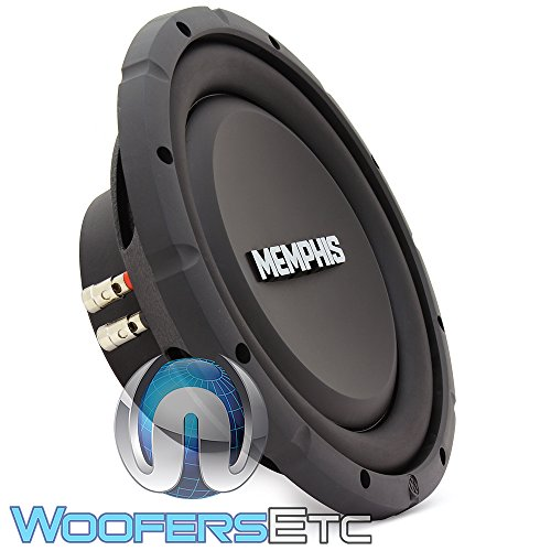 Memphis Audio SRXS1040 10″ Car Audio Shallow Subwoofer
