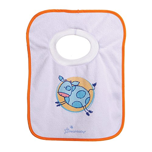 Dreambaby Terry Cloth Pull-Over Bibs, Favorite Pets, 4-Pack