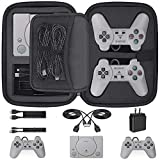 Video Games : Customized Carry Case for Playstation Classic, Deluxe Carrying Case Storage Perfect Protection for Sony Playstation Classic Mini Console, 2 Controllers and All Other Accessories