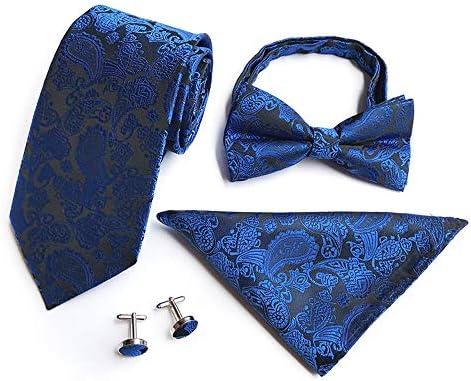 Pajaritas Moda Hombre Corbata de lazo de 4 piezas para hombre ...