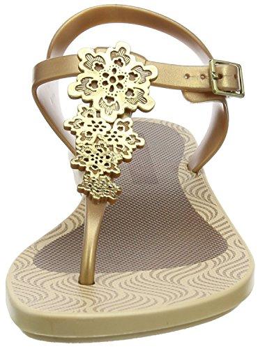 Grendha Romantic Ii Sandal - Sandalias Mujer Dorado (Gold)