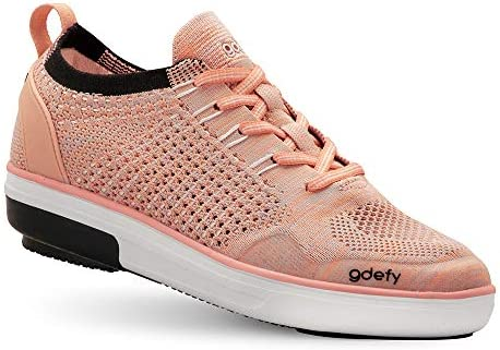 Gravity Defyer Women's G-Defy Jenni Athletic Shoes - Knit Fashion Sneakers Perfect for Pain Relief Plantar Fasciitis Foot Pain