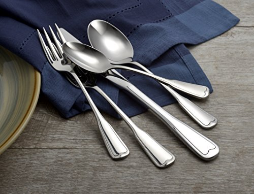 Liberty Tabletop Richmond 20 Piece Flatware Set service for 4 stainless steel 18/10 Made in USA by Liberty Tabletop (Image #4)