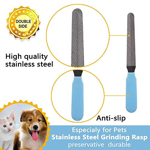 b2d8e24aad durable modeling Pet Grooming Tools Set 5 Pieces – All in One Pack: Dog Cat  Hair Remover / Nail Clipper/ Deshedding Rake / Brush Comb – Shower Cleaning  for ...