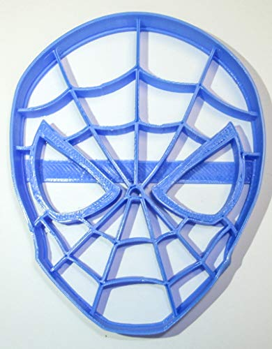 SPIDERMAN SPIDER MAN HEAD MARVEL SUPERHERO SPECIAL OCCASION COOKIE CUTTER BAKING TOOL 3D PRINTED MADE IN USA PR321L