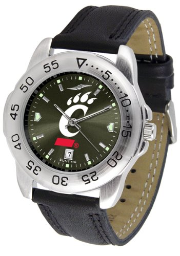 Linkswalker Mens Cincinnati Bearcats Sport Anochrome Watch