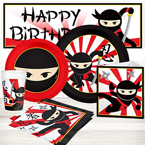 (Birthday Direct Ninja Party Package for 16 )