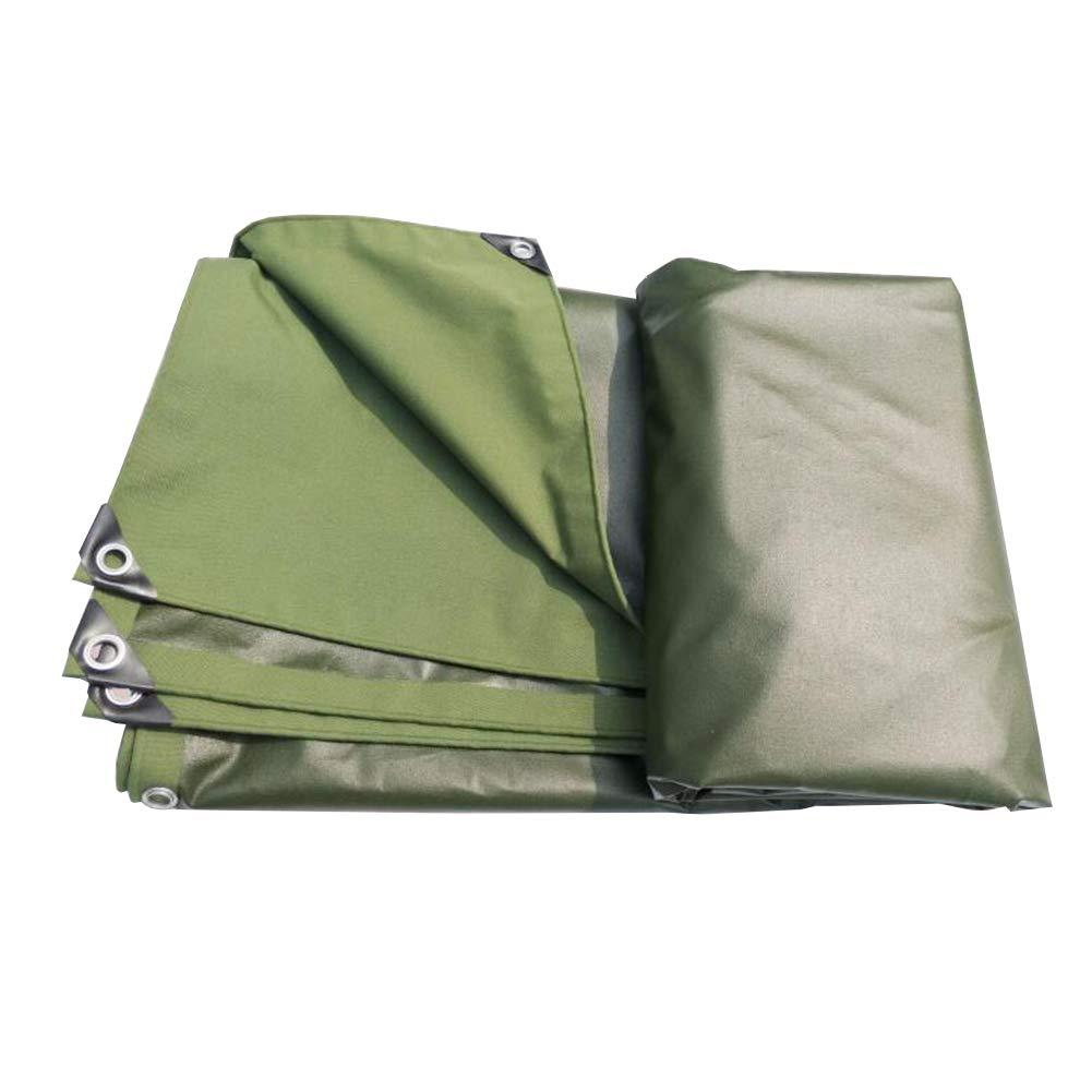 MuMa Plane Verdicken Wasserdicht Regenfest Schatten Segeltuch Draussen Besonders Angefertigt (Farbe   Armeegrün, größe   2  2m)