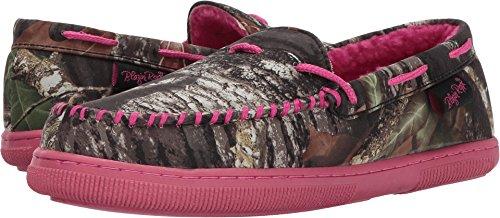 M&F Western Women's Mossy Oak Moccasin Slippers Hot Pink/Mossy Oak Camo Slipper