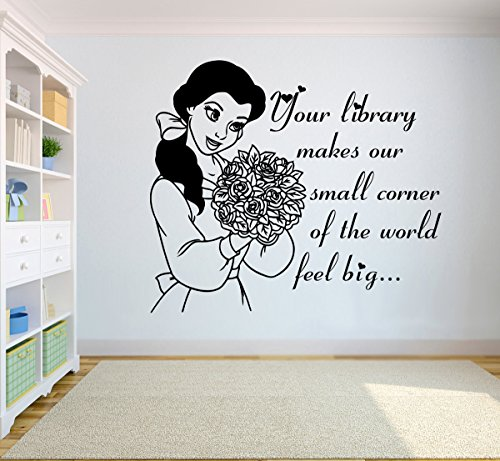 Popular Quotes Wall Art Walt Disney Citations Vinyl Sticker Beauty