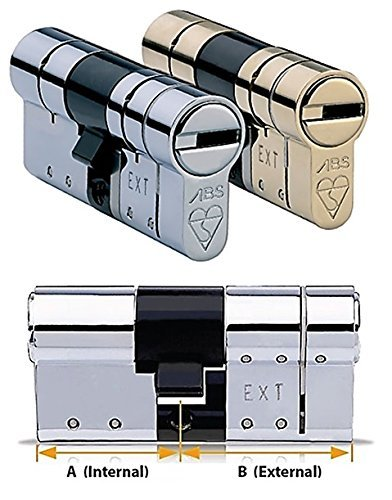 Avocet ABS High Security Euro Cylinder - Anti Snap Lock - TS007 3 Star...