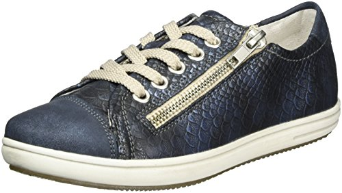 Rieker Mädchen K3014 Low-Top Blau (atlantis/Royal / 14)