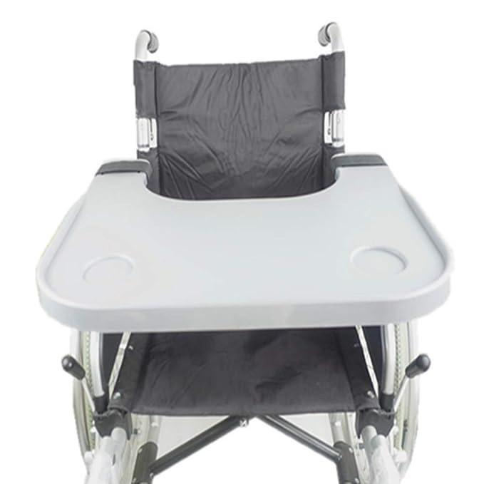 Silla de ruedas LAP Tray accesorios de mesa con portavasos portátil silla de niño universal bandejas de escritorio aptos para sillas de ruedas eléctricas o ...