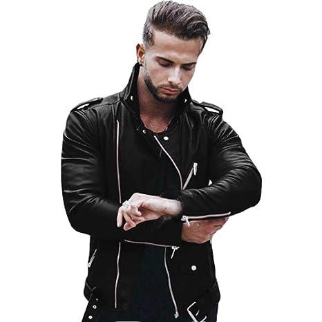 Amazon com : Annhoo 2019 Men Jacket, Men's Fashion Splicing