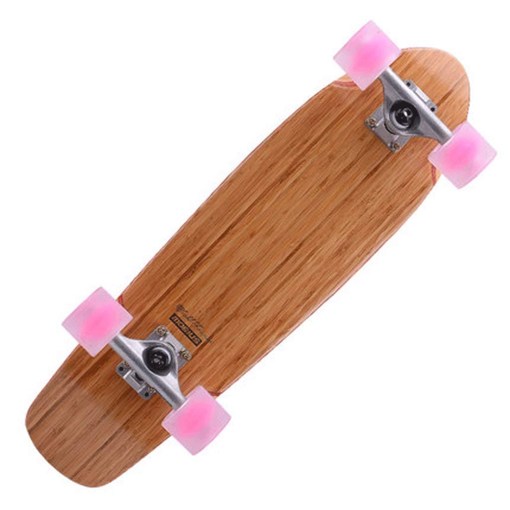 KYCD Straßen-große Fisch-Platten-Berufsahorn-Straße, die jugendlich Anfänger gehender Bambus und hölzerne Fischplatte Skateboarding ist B07NPQY568 Longboards Neues Design