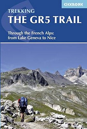 Map Geneva Switzerland Lake - Trekking The GR5 Trail: Through the French Alps: From Lake Geneva to Nice (Cicerone Guides)