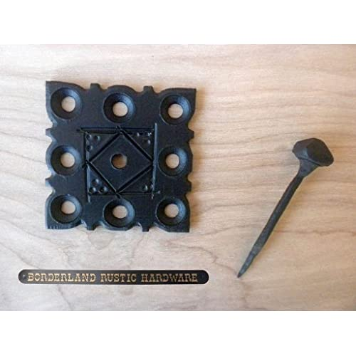 good Door Clavos Decorative Nails 2  Rustic Hammered Iron Black Finish Hand Crafted Borderland Rustic  sc 1 st  icuil & good Door Clavos Decorative Nails 2