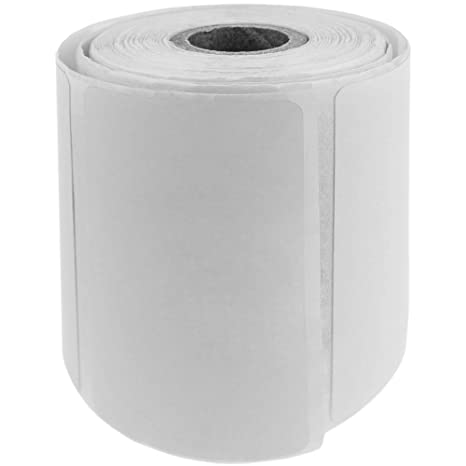BeMatik - Rollo Bobina de 500 Etiquetas Adhesivas para ...