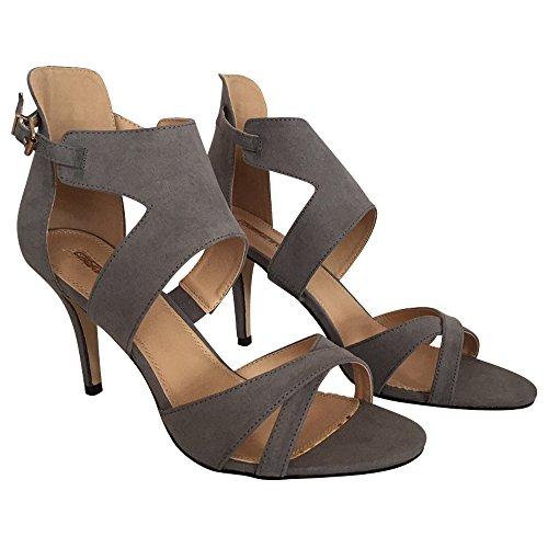 Buffalo High Heel Sandalette grau (42)