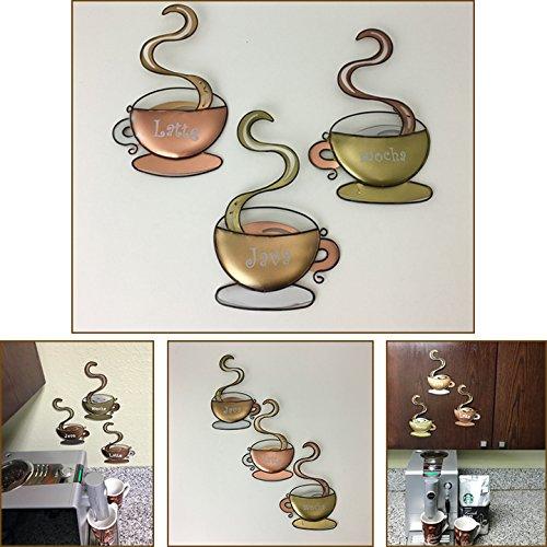 metal coffee mug set - 6