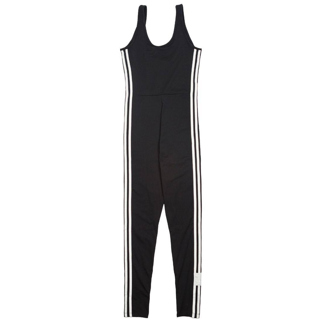 5248f65defa adidas Womens Adibreak Jumpsuit - Black -: Amazon.co.uk: Clothing