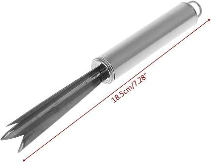 Stainless Steel Pineapple Eye Remover Fruit Peeler Slicer Cutter Kitchen Tool.SL