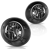 AUTOSAVER88 Fog Lights for Chevy Camaro 2010 2011 2012 2013 (OE Style Clear Lens with Bulbs & Wiring Harness)