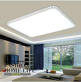 Manhattan Kunst Led Decke Lampe Wohnzimmer Schlafzimmer Küche Dekoriert,  Rechteckige Kristall Leuchten Und Moderne