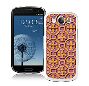 Fashion Designed Cover Case For Samsung Galaxy S3 I9300 With Tory Burch 61 White Phone Case