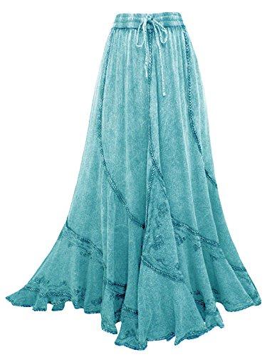 Bleu Aeon Aeon Jupe Femme Bleu Femme Jupe Aeon I5ZrZqw