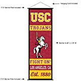 USC Trojans Banner and Scroll Sign