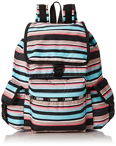 ackpack, Tennis Stripe, One Size (Carry On Fold Over Clutch)