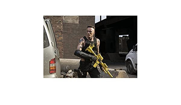 Chappie with Ninja from Die Antwoord Ready to Fight Holding ...