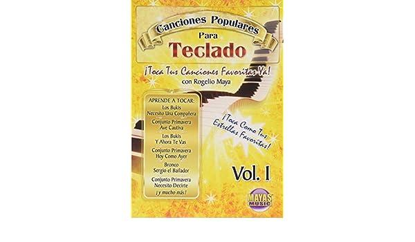 Amazon.com: Canciones Populares Para Teclado: Volume 1: Canciones Populares Para Teclado: Movies & TV
