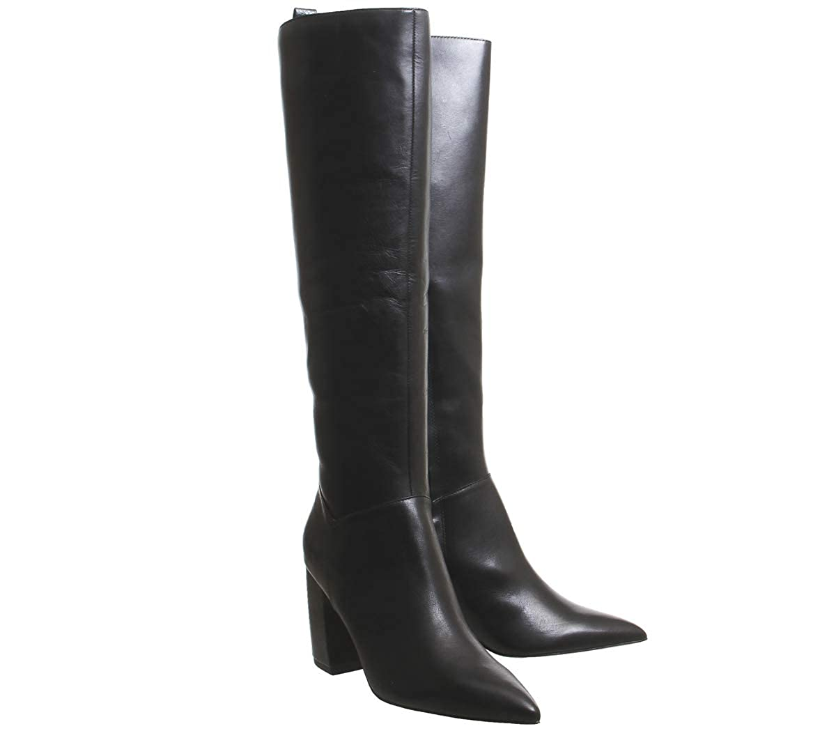 b72d0ca2 Office Kiki Pointed Block Heel Knee Boots: Amazon.co.uk: Shoes & Bags