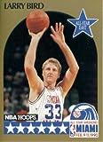 1990 NBA Hoops Basketball Card #2: Larry Bird (All-Star - Boston Celtics)
