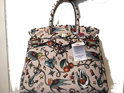 Cipria main 4 BAG SAVE Tattoo sac Multicolore à Miss MY 3 w7Pxnxq0AF
