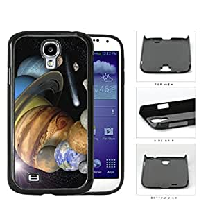 The Solar System Stars Planets And Shooting Stars Hard Plastic Snap On Cell Phone Case Samsung Galaxy S4 SIV I9500 by runtopwell